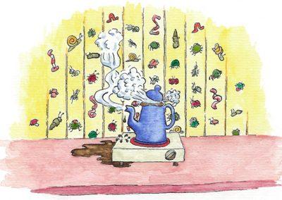 Illustration til fortællingen om Fru Køllevig